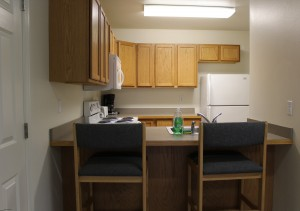 dorm kitchen